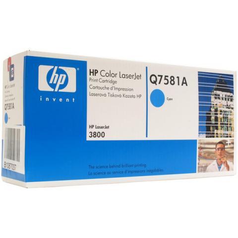 Тонер-картридж HP Q7581A (Original)