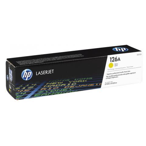 Тонер-картридж HP CE312A (Original)