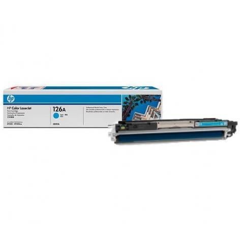 Тонер-картридж HP CE311A (Original)