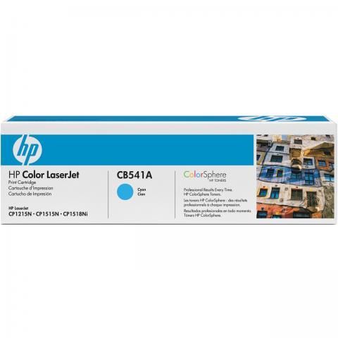 Тонер-картридж HP CB541A (Original)